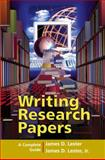 Writing Research Papers : A Complete Guide, Lester, James D. and Lester, James D., Jr., 0321236467