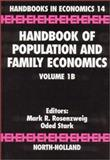 Handbook of Population and Family Economics, , 0444826467