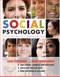 Social Psychology, First Edition Binder Ready Version, Sanderson, 0470556463