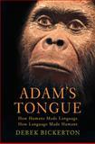Adam's Tongue, Derek Bickerton, 0809016478