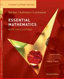 Essential Mathematics with Applications: Student Support Edition, Barker, Vernon C. and Aufmann, Richard N., 0547016476
