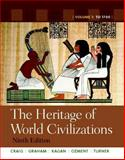 The Heritage of World Civilizations, Craig, Albert M. and Graham, William A., 0205216471