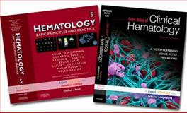Hoffman, Hematology, Expert Consult Premium Edition - Enhanced Online Features and Print, 5e and Hoffbrand, Color Atlas of Clinical Hematology, Expert Consult - Online and Print, 4e Package, Hoffman, Ronald and Hoffbrand, A. Victor, 1437706479