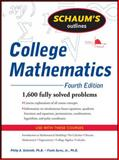College Mathematics, Schmidt, Philip and Ayres, Frank, 0071626476