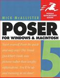 Poser 5 for Windows and MacIntosh : Visual QuickStart Guide, McAllister, Mick, 0321186478