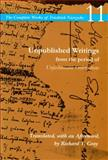 Unpublished Writings from the Period of Unfashionable Observations, Friedrich Wilhelm Nietzsche, 0804736480
