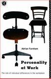 Personality at Work, Adrian F. Furnham, 0415106486