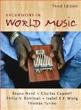 Excursions in World Music, Nettl, Bruno and Capwell, Charles, 0130316482