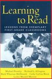 Learning to Read : Lessons from Exemplary First-Grade Classrooms, Block, Cathy Collins and Allington, Richard L., 1572306483