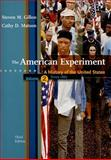 The American Experiment : A History of the United States since 1865, Gillon, Steven M. and Matson, Cathy D., 0547056486