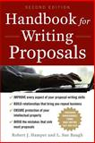 Handbook for Writing Proposals, Hamper, Robert J. and Baugh, L. Sue, 007174648X