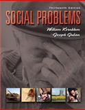 Social Problems, Kornblum, William and Julian, Joseph, 0136016480