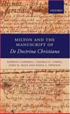 Milton and the Manuscript of de Doctrina Christiana 9780199296491