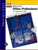 New Perspectives on Microsoft Office Professional for Windows 95 : 5-in-1, Zimmerman, S. Scott and Parsons, June J., 0760046492