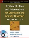 Treatment Plans and Interventions for Depression and Anxiety Disorders 2nd Edition