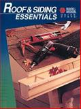 Roof and Siding Essentials, Creative Publishing International Editors, 0865736499