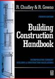 Building Construction Handbook, Chudley, Roy and Greeno, Roger, 0750646497