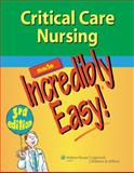 Critical Care Nursing, Springhouse Publishing Company Staff, 1609136497