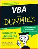 VBA for Dummies, John Paul Mueller, 0470046503
