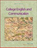 College English and Communication, Camp, Sue C. and Satterwhite, Marilyn L., 007310650X