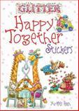 Glitter Happy Together Stickers, Yu-Mei Han, 0486476502