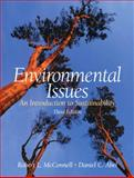 Environmental Issues : An Introduction to Sustainability, McConnell, Robert L. and Abel, Daniel C., 0131566504