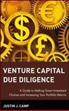 Venture Capital Due Diligence, Justin J. Camp, 0471126500