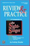 Sight Singer Review I, Audrey Snyder, 0769246516