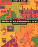 Essentials of Human Communication, DeVito, Joseph A., 032108652X