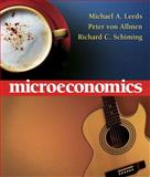 Microeconomics, Leeds, Michael A. and Von Allmen, Peter, 0321456521