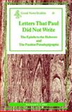 Letters That Paul Did Not Write, Collins, Raymond F., 0894536524