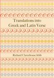 Translations into Greek and Latin Verse, Jebb, Richard Claverhouse, 1107686520