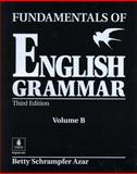 Fundamentals of English Grammar, Azar, Betty Schrampfer, 0130136522