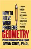 How to Solve Word Problems in Geometry, Sova, Dawn B., 007134652X