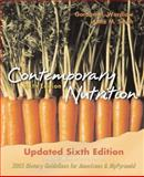Contemporary Nutrition, Wardlaw, Gordon M. and Smith, Anne M., 0073256528