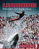 Learning : Principles and Applications, Klein, Stephen B., 1412956528