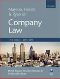 Mayson, French and Ryan on Company Law, French, Derek and Mayson, Stephen, 0198716532