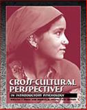 Cross-Cultural Perspectives : In Introductory Psychology, Price, William F. and Crapo, Richley H., 0534546536