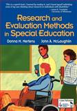 Research and Evaluation Methods in Special Education, Mertens, Donna M. and McLaughlin, John A., 0761946535