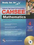 CAHSEE - Mathematics w/ TestWare (REA), Stephen Hearne and Associates BBE Staff, 0738606537