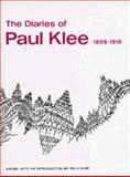 The Diaries of Paul Klee 9780520006539