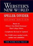 Webster's New World Speller/Divider, Webster's New World Staff, 013953654X