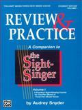Sight Singer Review I, Audrey Snyder, 0769246540