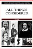All Things Considered, G. K. Chesterton, 1484096541