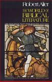 The World of Biblical Literature, Robert Alter, 0281046549
