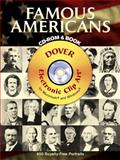 Famous Americans, Dover Publications Inc. Staff, 0486996549