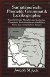 Samatimerisch Phonetik Grammatik Lexikographie 9780820436555