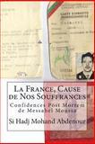 La France, Cause de Nos Souffrances, Si Hadj Mohand Abdenour, 1495316556