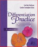 Differentiation in Practice : A Resource Guide for Differentiating Curriculum, Grades 5-9, Tomlinson, Carol and Eidson, Caroline, 0871206552