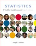 Statistics : A Tool for Social Research, Healey, Joseph F., 0495096555